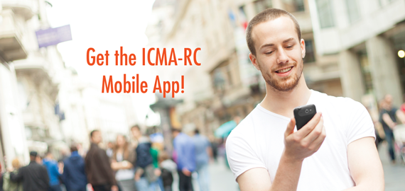 Get the ICMA-RC Mobile App