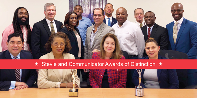Stevie and Communicator Awards of Distinction