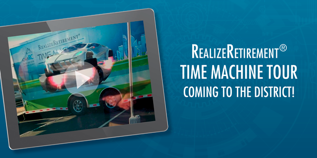 RealizeRetirement Time Machine Tour coming to the District!