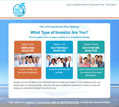 Visit the Long Beach Investment Options Website