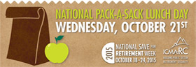 Pack a Sack Lunch Day