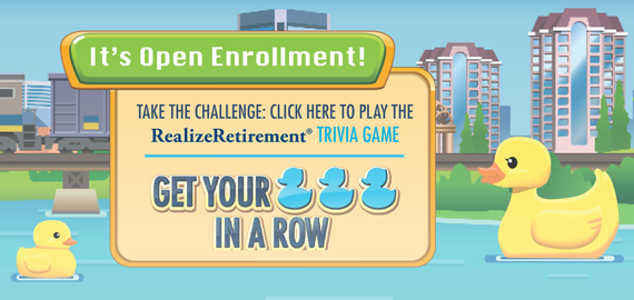Play the RealizeRetirement Trivia Game